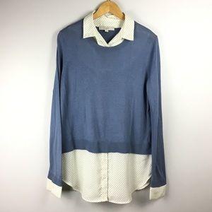 Loft layered blouse